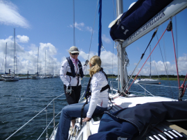 Reach 4 the Wind - RYA Start Yachting Course