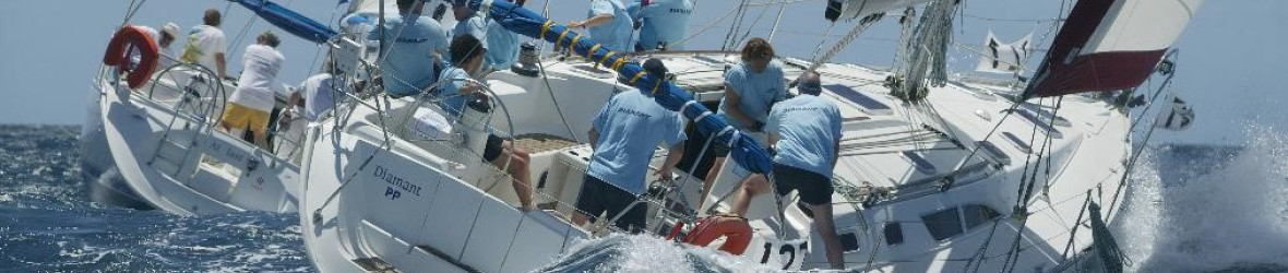 Reach 4 the wind - Antigua Sailing Week